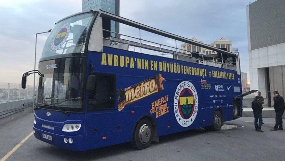 Arıza yapan otobüs.