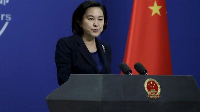 Çin Dışişleri Bakanlığı Sözcüsü Hua Chunying ile ilgili görsel sonucu