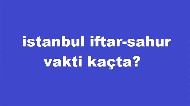 Istanbul Da Aksam Ezani Sabah Ezani Saat Kacta Okunuyor