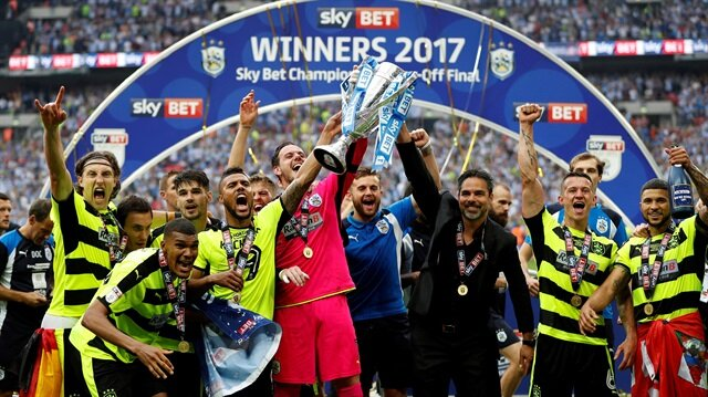 Huddersfield Town, Premier Lig'e   çıkan son takım oldu.