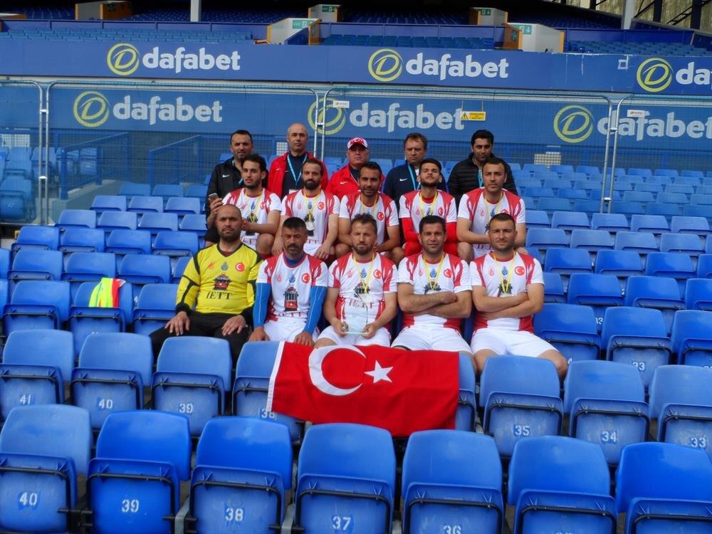 İETT Futbol Takımı grup maçlarını namağlup tamamladı.