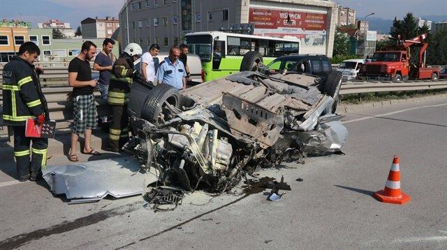 Kocaeli'de trafik kazası: 1 ölü, 3 yaralı