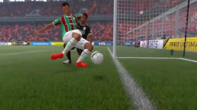FIFA 17'de bir türlü gol olmayan pozisyon