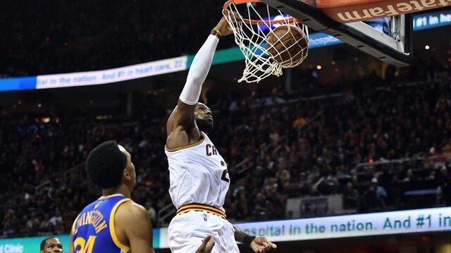 LeBron James, Michael Jordan'ı geçerek NBA finalleri tarihinde en çok sayı atan 3. oyuncu oldu.