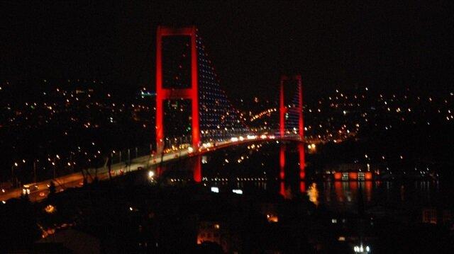 15 Temmuz Şehitler Köprüsü'nde bakım onarım çalışmaları başladı