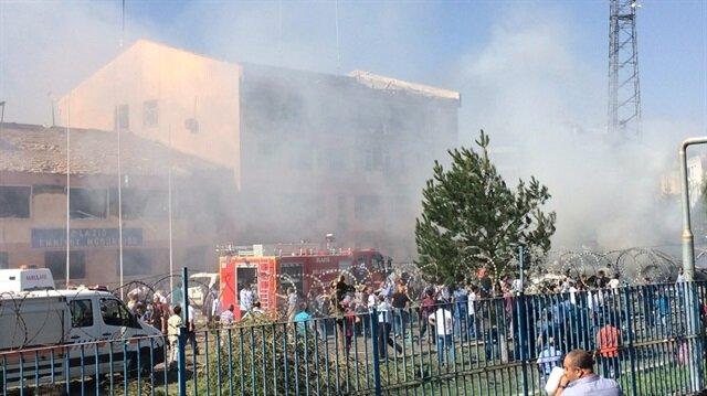 Terör örgütü PKK, Elazığ İl Emniyet Müdürlüğü'ne yönelik saldırı gerçekleştirmişti.