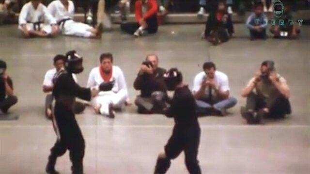 Bruce Lee'nin tek gerçek dövüş görüntüsü