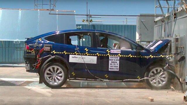 Tesla Model X en güvenli SUV oldu