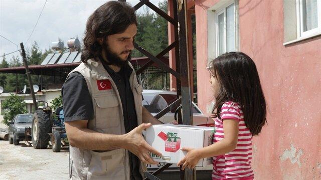 الإغاثة التركية ترسم البسمة على وجوه 10 آلاف يتيم سوري