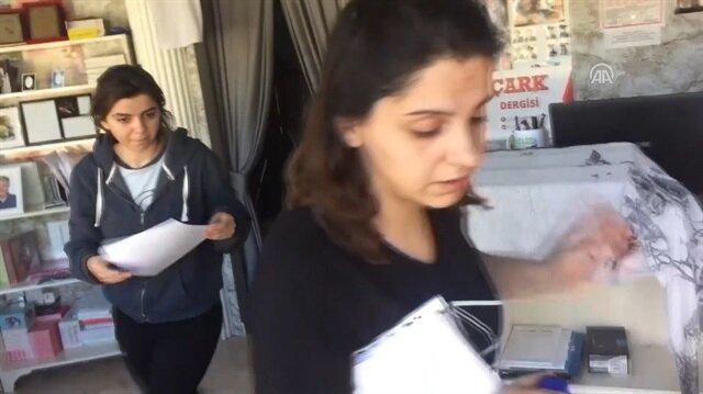 Sınava geç kalan öğrenciyi gazeteciler yetiştirdi