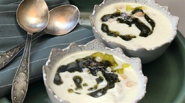 İncikli Yoğurtlu Çorba