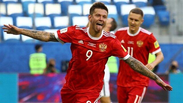 Rusya Konfederasyonlar Kupası'na 3 puanla başladı