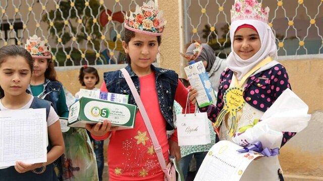 İHH'dan Suriyeli yetimlere destek