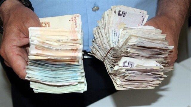 75'lik dilenciden 7 bin lira çıktı