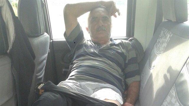 63 yaşındaki Besim Gümüş, bahçesini suladığı sırada ayının saldırısına uğradı.