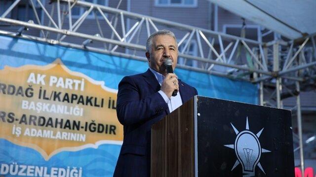 Ulaştırma Bakanı Arslan'dan Ramazan Bayramı mesajı