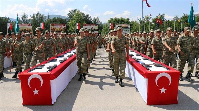 Amasya ve Tokat'ta yemin töreni düzenlendi.