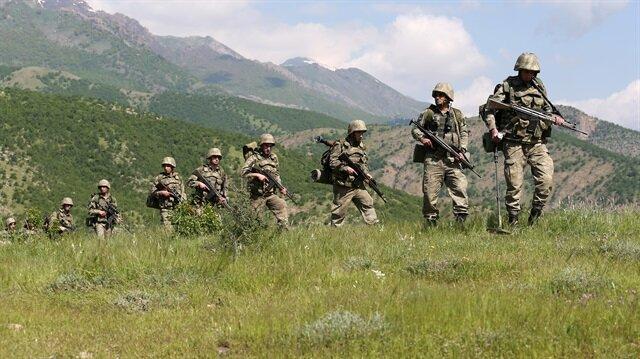 Terör örgütü PKK'ya yönelik operasyonlar hız kesmeden devam ediyor.