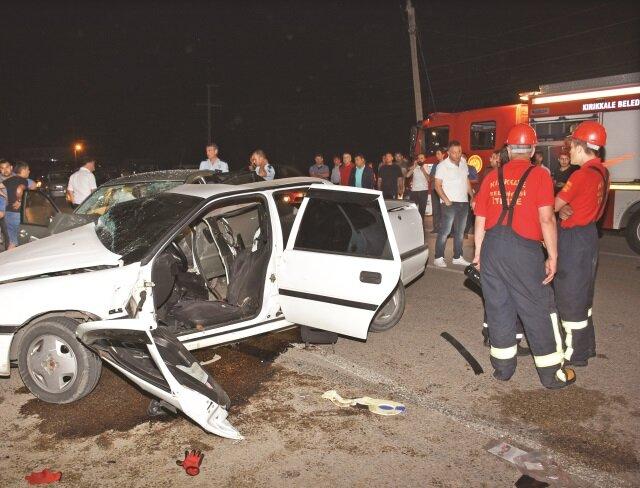 Kırıkkale'de can pazarı: 3 ölü 8 yaralı