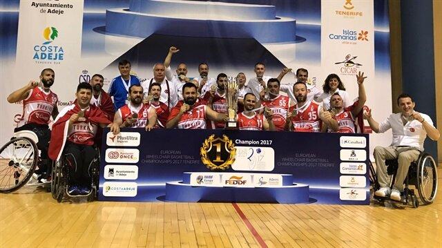 Türkiye Avrupa şampiyonu oldu