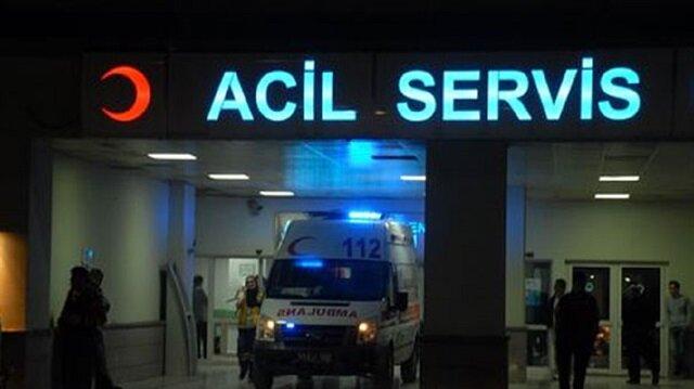 Edirne'de 14 asker hastaneye kaldırıldı