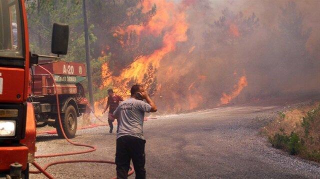 Batı Akdeniz için orman yangını uyarısı