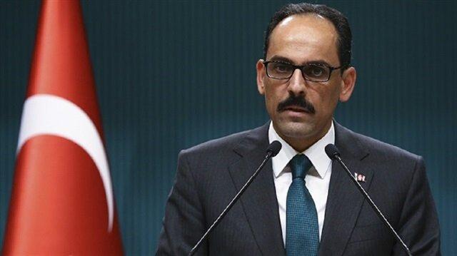 Turkish Presidential Spokesman İbrahim Kalın