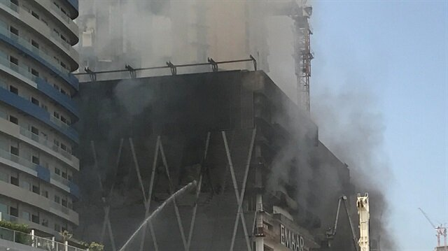 Fire hits Kuwait's Avenues Mall construction site