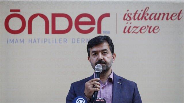 Arşiv: ÖNDER İmam Hatipliler Derneği Başkanı Halit Bekiroğlu