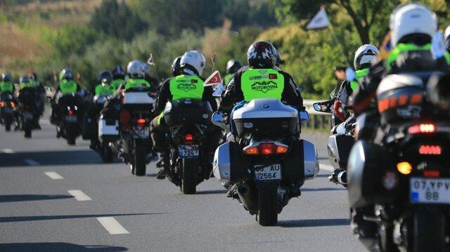 MotoBosna ekibi Yunanistan'a giriş yaptı.