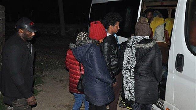 Edirne'de 29 kaçak durduruldu
