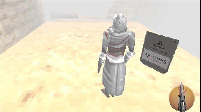 Assassin's Creed PlayStation 1'e çıksaydı nasıl görünürdü?