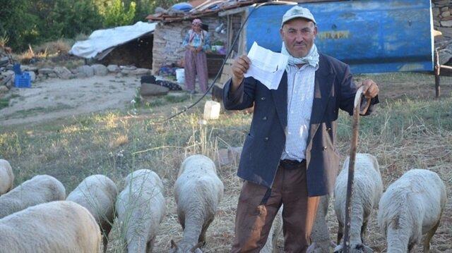 Manisalı çobana gitmediği İstanbul'da ceza yazıldı