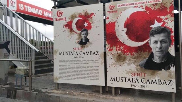 İETT şehidimiz 'Mustafa Cambaz'ı unutmadı