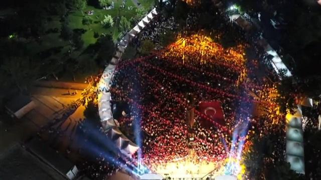 Diyarbakır böyle yürüyüş görmedi