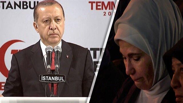 Erdoğan bu türküde gözyaşlarını tutamadı!