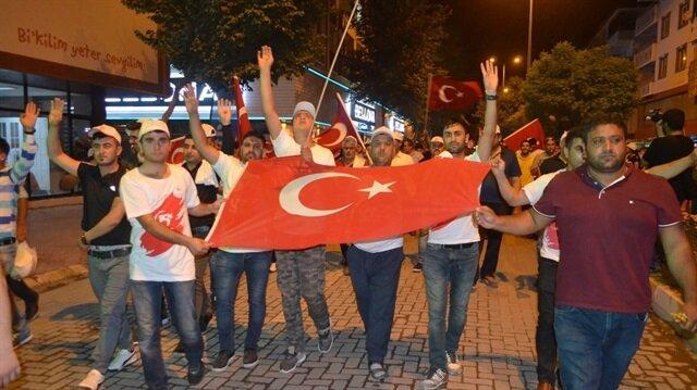 Iğdır'da 'Milli Birlik' yürüyüşü düzenlendi