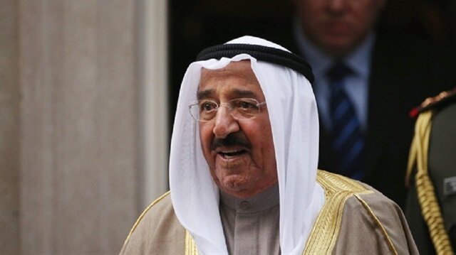 أمير الكويت يلتقي وزير الخارجية الفرنسي