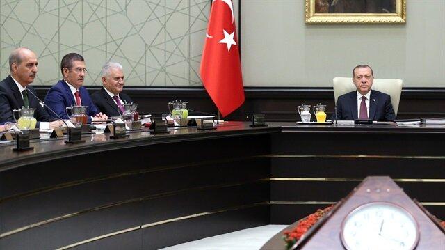 MGK: Sınırda terör devletine asla izin verilmeyecek