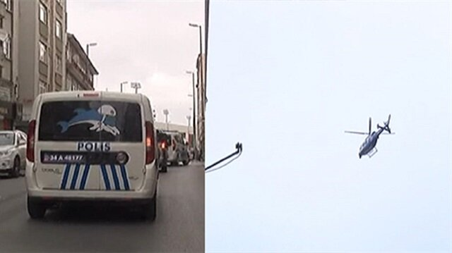 Bayrampaşa'da hava destekli operasyon