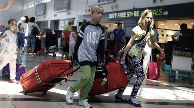 Türkiye'ye bu yılın ocak-mayıs döneminde en fazla Rus turist geldi.