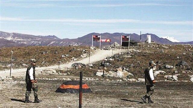 Çin ile Hindistan sınırında gerilim artıyor.