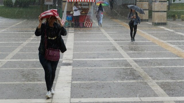 Meteorolojiden 7 ile kuvvetli yağış uyarısı