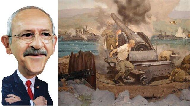 Kılıçdaroğlu'ndan tarih gafı: Meğer Çanakkale'de Almanlarla da savaşmışız!