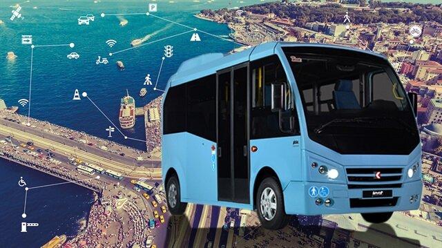 Istanbula Akıllı Minibüs