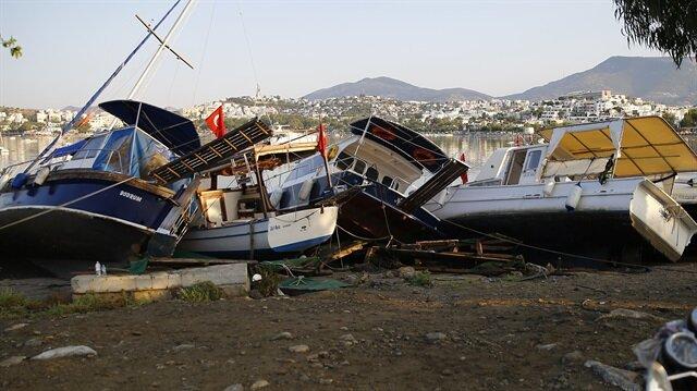 Ege'de 6.6 büyüklüğünde deprem