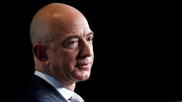 Jeff Bezos, founder of Blue Origin and CEO of Amazon