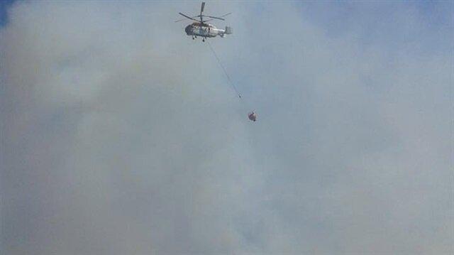 Balıkesir'deki orman yangını kontrol altına alındı.