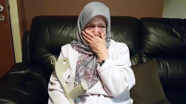 71 yaşında Müslüman olan Belçikalının duygu dolu anları!