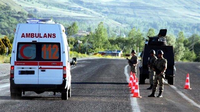 Diyarbakır'da mayına basan biri binbaşı 2 askerimiz şehit oldu